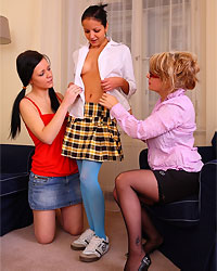 milf teacher seducing young girls
